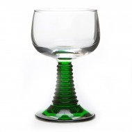 6 Alsace wine glasses Roemer
