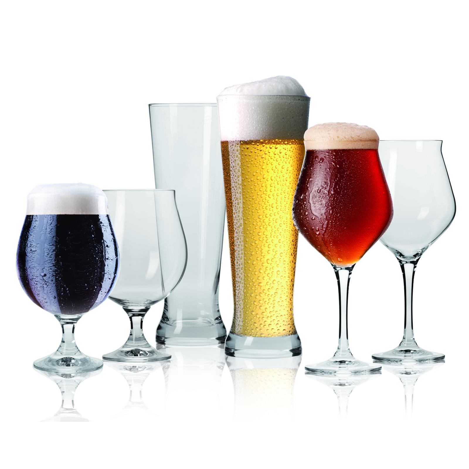 Coffret de 6 verres à bière pour dégustation