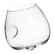 "6 Wine glasses ""Amplitude"" - crystal"
